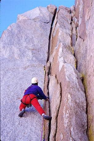 North Arete of Mt. Langley, FA, Sep 5-6, 1999
