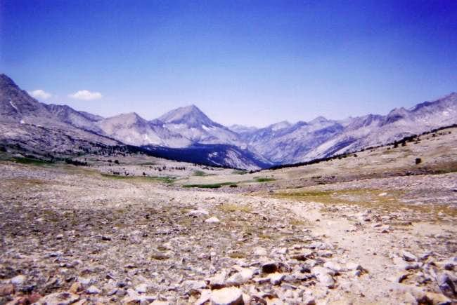Arrow Peak and Bench Lake...
