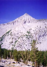 The east face of Arrow Peak