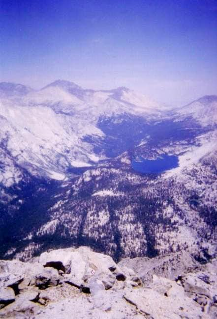 Taboose Pass and Bench Lake...