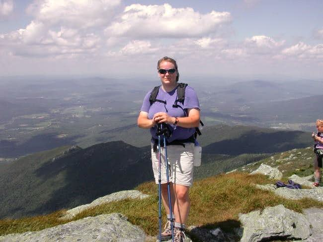 Summit of Mount Mansfield....