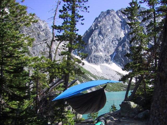 Camping at Colchuck Lake with...