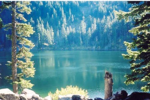A look at Mason Lake while...
