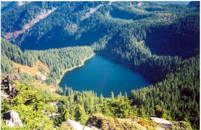 Lake Kulla Kulla as seen from...