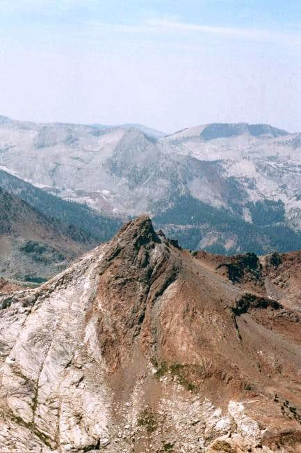 Mineral Peak from the summit...