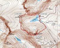 Mt. Spaulding - Summit Ridge...