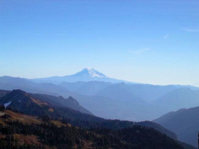 Looking South at Mt. Adams...