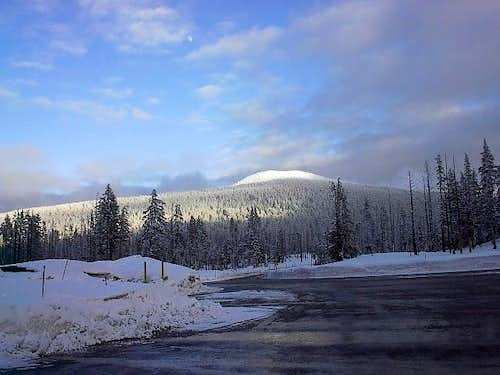 Tumalo Mountain from the Mt....