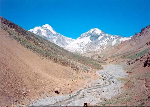 Amaghino and Cerro Aconcagua....