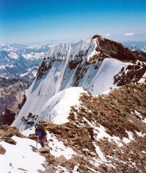 The Summit Ridge of Cerro...