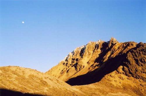 Illiniza Norte from the above...