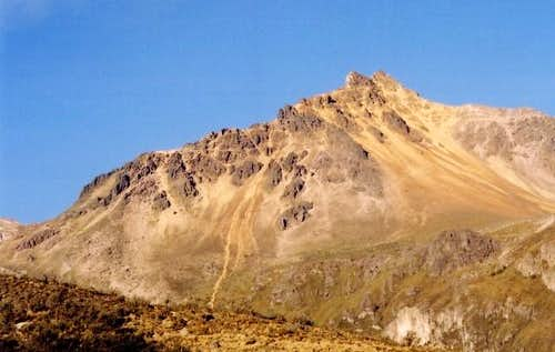 Illiniza Norte from above La...