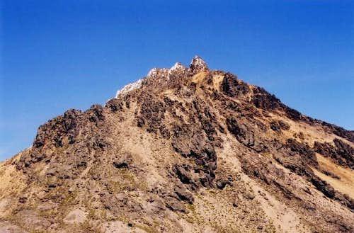 Illiniza Norte from below the...