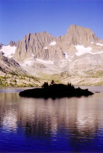 Mt. Ritter and Banner Peak...