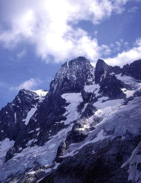 Mount Goode from the north.