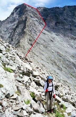Ridge hike to Hour Glass and...