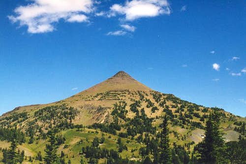 Aneroid Mountain as seen from...