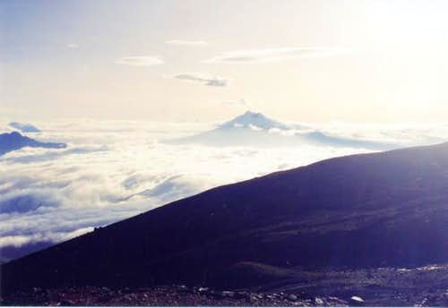 View on Cotopaxi from...