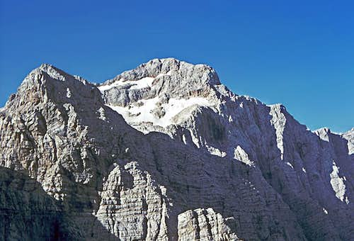 The summit of Triglav from...