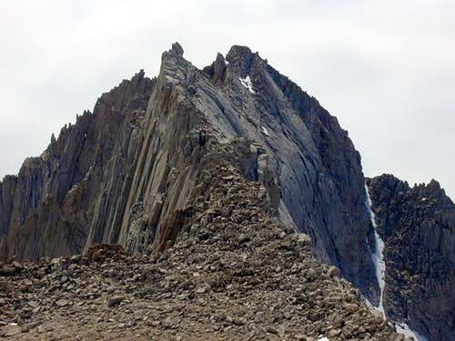 The East Ridge from the...