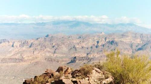 The Goldfield Mountains with...