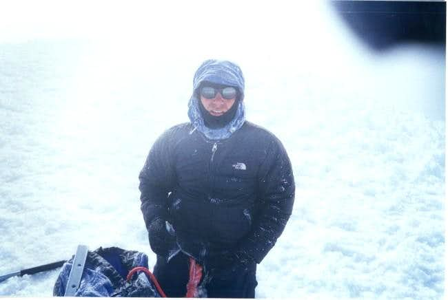 Juan Valderrama in the summit...