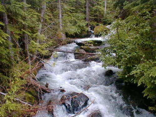 Mountaineer Creek on the way...