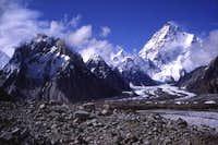 This shot of K2 was taken...