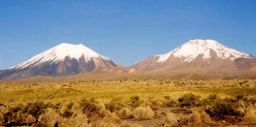 The Payachatas from altiplano...