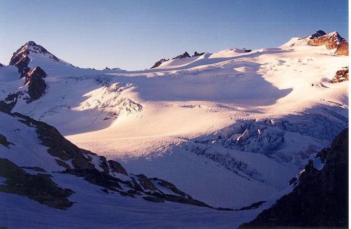 Snowfield Peak as seen from...