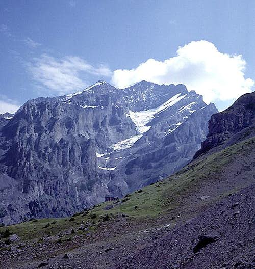Doldenhorn from the south.