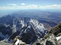 View of Middle Teton from the...