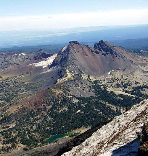 Broken top from South Sister...