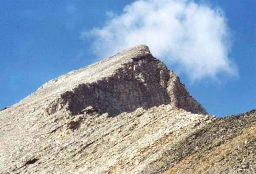 Hyndman Peak from the saddle...