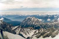 Hohe Munde from Zugspitze....