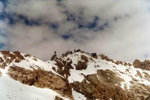 Zugspitze from Platt....