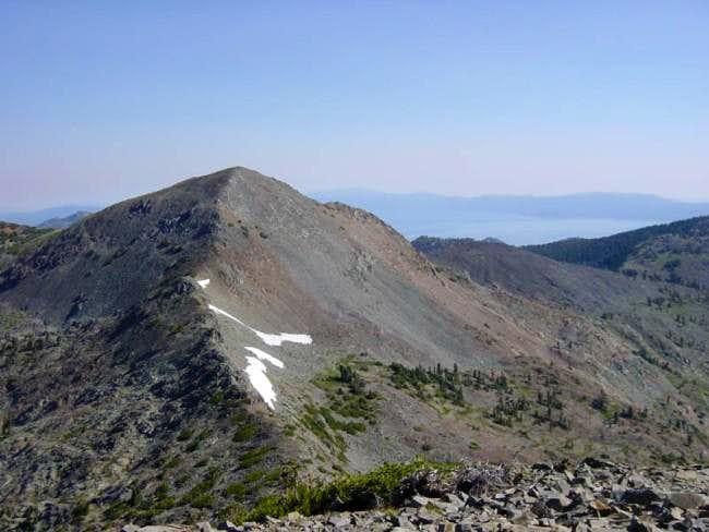 South Ridge of Dicks Peak,...