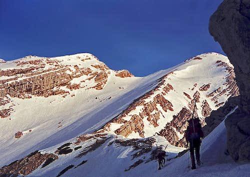 The ideal ski slopes of Mojstrovka