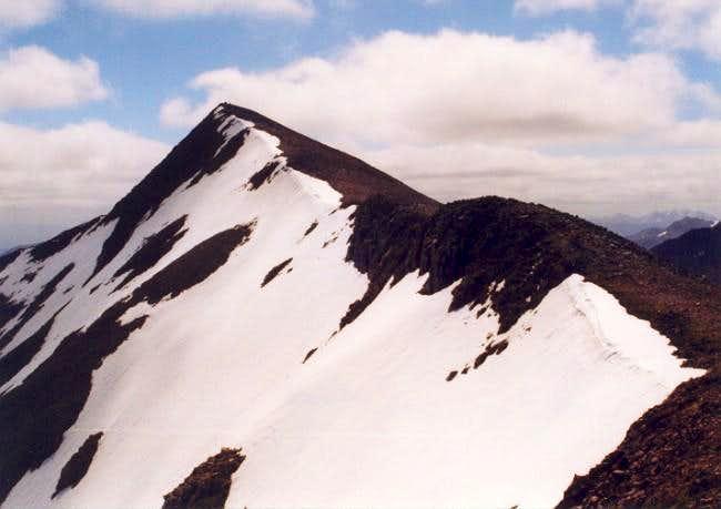 Carn Mor Dearg (4,012 ft) as...