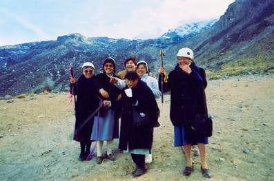 Several Franciscan nuns...