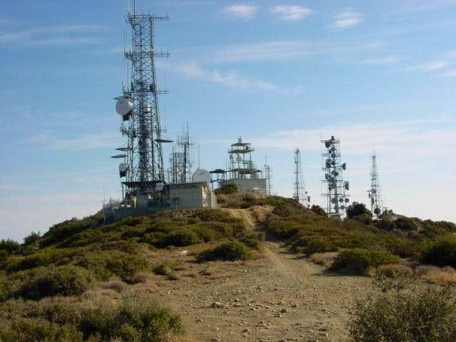 The summit glory of Santiago...