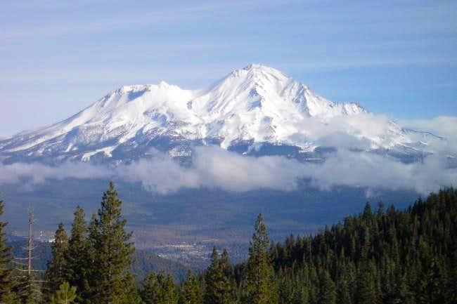 Mount Shasta, November 2002....
