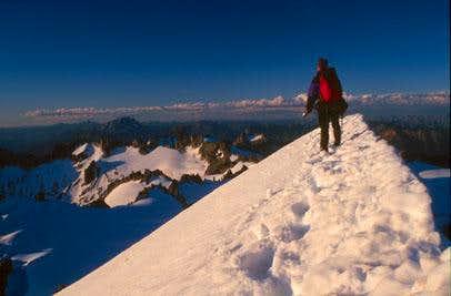 Climber On Eldorado