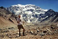 South Face of Aconcagua....