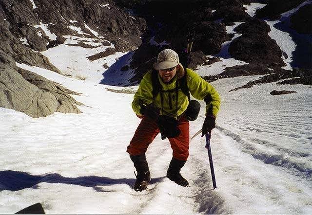 Middle Palisade Glacier....