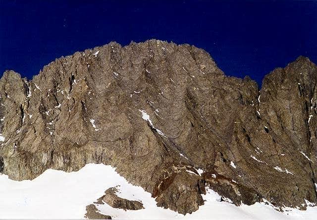 Middle Pallisade. June, 2001