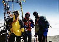 On the summit of El Pico de...