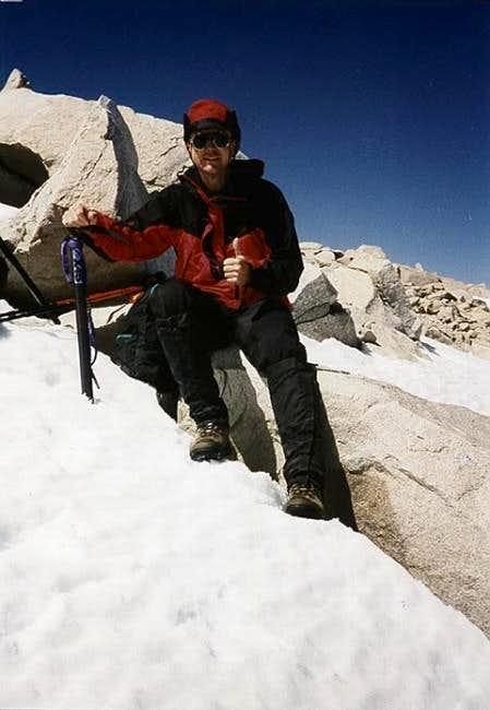 On the summit of Mt. San...