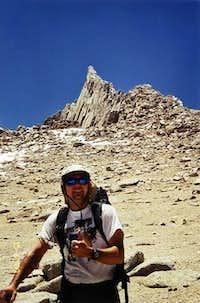 Knife Edge summit of Mt....