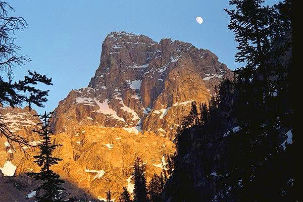 Grand Teton Moon